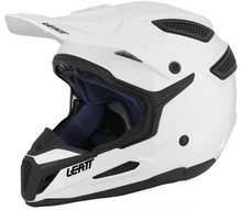 2016 Leatt GPX5.5 Motocross Helmet Solid White Large (59-60cm)