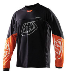 2016 Troy Lee Designs Jersey Adventure Black/Orange