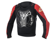 2016 Alpinestars Youth Bionic Jacket One Size Black/Red