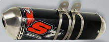 DEP DEPH4429 4 Stroke/4T S7R Exhaust Mid Section Honda CRF450 13-14 Single