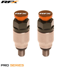 RFX Pro Fork Air Bleeder2 M4x0.7 (Stainless/Orange) WP