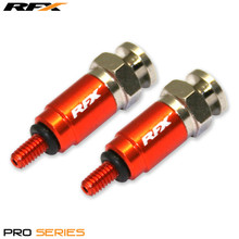 RFX Pro Fork Air Bleeders M4x0.7 (Orange) WP