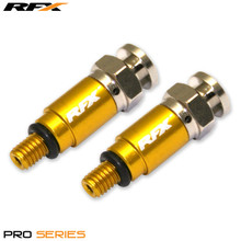 RFX Pro Fork Air Bleeders M5x0.8 (Yellow) Kayaba/Showa  CRF/YZF/RMZ/KXF