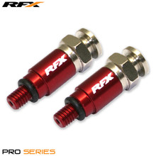 RFX Pro Fork Air Bleeders M5x0.8 (Red) Kayaba/Showa  CRF/YZF/RMZ/KXF