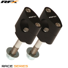 RFX Race Handlebar Mount Kit 28.6mm (Black) Honda CR125/250 97-07 CRF250/450 02-14 Kawasaki Pre 08