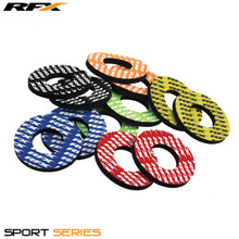 RFX Sport Grip Donuts (Red) Pair