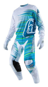 2017 Troy Lee Designs TLD Combo GP Air Electro White