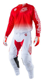 2017 Troy Lee Designs TLD Combo SE Air Starburst White/Red