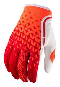 2017 Troy Lee Designs TLD XV Gloves Starburst Red/Orange