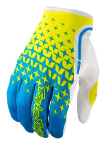 2017 Troy Lee Designs TLD XC Gloves Cyan/Yellow