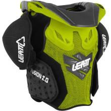 Leatt Neck Vest Fusion 2.0 Junior Grn/Blk Kids L/XL 125-150cm MX/Enduro/Armour