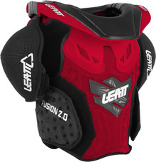 Leatt Neck Vest Fusion 2.0 Junior Rd/Blk Kids L/XL 125-150cm MX/Enduro/Armour