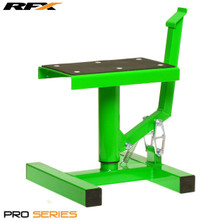 RFX Pro Single Pillar Lift up Bike Stand (Green)