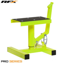 RFX Pro Single Pillar Lift up Bike Stand (Hi-Viz)