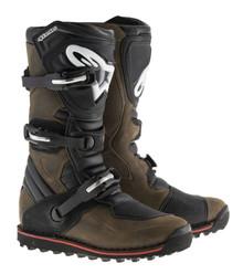 2017 Alpinestars Tech-T Boots Brown Oiled