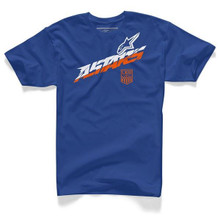 Alpinestars T-Shirt Lateral Royal Blue