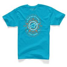 Alpinestars T-Shirt Radio Turquoise