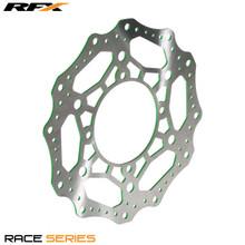 RFX Race Front Disc (Green) Kawasaki KX125/250 06-08 KXF250/450 06-14