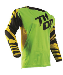2017 Thor Fuse Air Jersey Dazz Flo-Green/Yellow