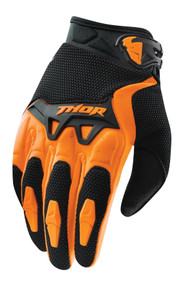 2017 Thor Youth Spectrum Gloves Orange