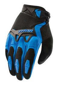 2017 Thor Youth Spectrum Gloves Blue