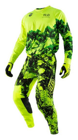 2017 Troy Lee Designs TLD SE Combo Gravity Flo Yellow