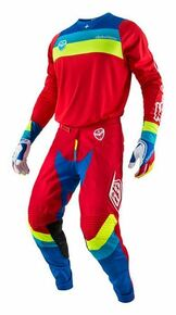 2017 Troy Lee Designs TLD Combo Corsa Red