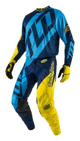 2017 Troy Lee Designs TLD GP Combo Quest Blue/Yellow
