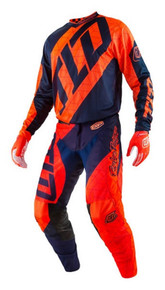2017 Troy Lee Designs TLD GP Youth Combo Quest Orange/Navy