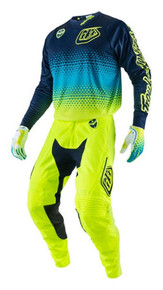 2017 Troy Lee Designs TLD GP Youth Combo Starburst Flo Yellow/Navy
