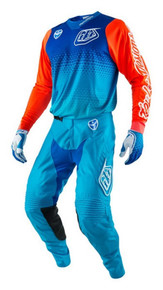 2017 Troy Lee Designs TLD GP Youth Combo Starburst Cyan/Blue