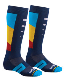 2017 Thor Moto Knit Sock Aktiv Blue