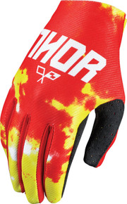 2017 Thor Youth Void Gloves Tydy Fire