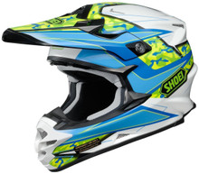 Shoei VFX-W Turmoil TC2 Blue