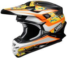 Shoei VFX-W Turmoil TC8 Orange