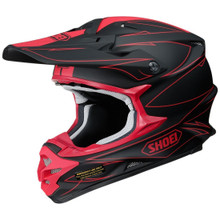 Shoei VFX-W MX Helemt Hectic TC1 Black/Red
