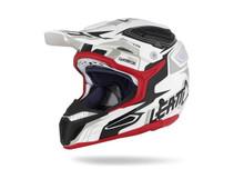 2017 Leatt GPX 5.5 Composite Helmet V05 White/Black/Red