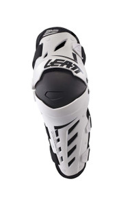 2017 Leatt Dual Axis Knee Guard White/Black