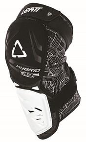 Leatt 3DF Hybrid Knee Guard Black/White