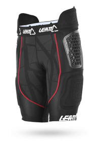 Leatt GPX 5.5 Adult Impact Shorts Black/Red