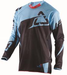 2017 Leatt GPX jersey 4.5 X-Flo Black/Blue