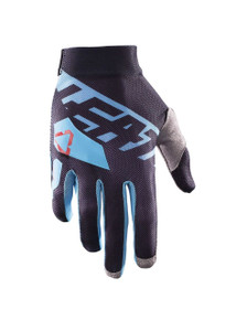 2017 Leatt GPX 2.5 X Flow Gloves Black/Blue