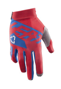 2017 Leatt GPX 2.5 X Flow Gloves Red/Blue