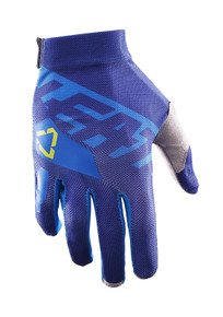 2017 Leatt GPX 2.5 XFlow Gloves Blue/Lime