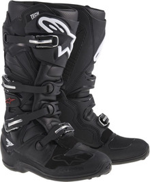 Alpinestars Tech-7 Motocross Boots Black