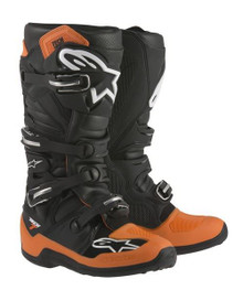 Alpinestars Tech-7 Motocross Boots Orange/Black/White