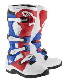 Alpinestars Tech-5 Motocross Boots White/Red/Blue