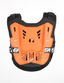 Leatt 2.5 Kids Chest Protector Orange/Black One Size MX Motocross Off-Road