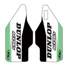 Factory Effex Sponsor lower fork decal KX125 / 250 04-06, KX250F 04-05