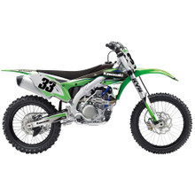 Factory Effex EVO 14  Shroud Graphics/Decal Kit Kawasaki KX450F 12-15